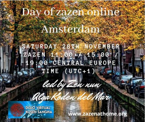 Ne manquez pas cette journée de zazen