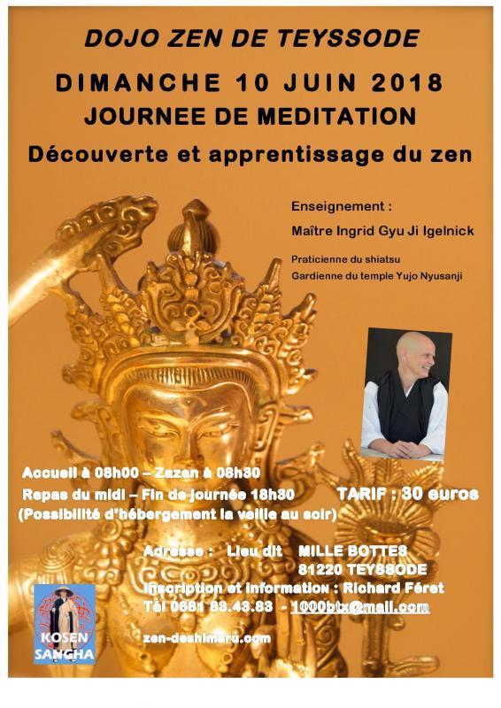 Journée de méditation à Teyssode