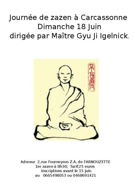 Journée de pratique du zen à Carcassonne