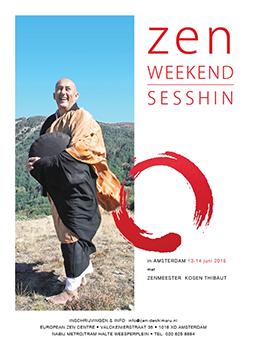 Sesshin : práctica intensiva de meditación zen en Amsterdam