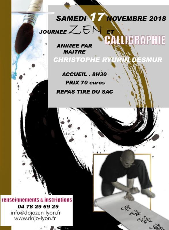 Journée méditation zen et Calligraphie à Lyon