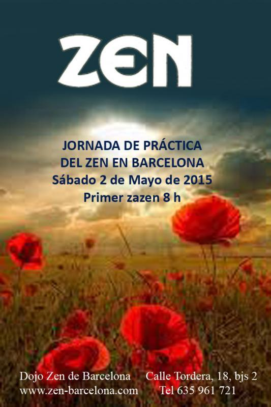 Dojo Zen de Barcelona, jornada práctica Mayo 2015