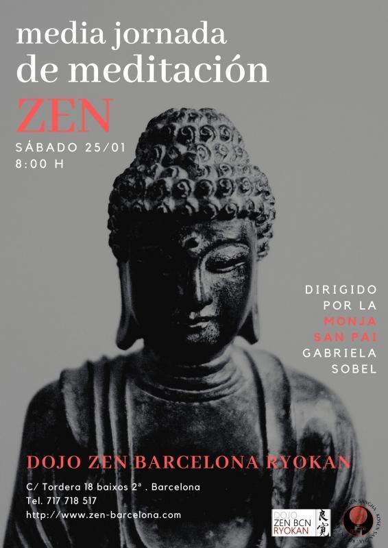 Media Jornada Dojo Zen Barcelona Ryokan 25.01.2020
