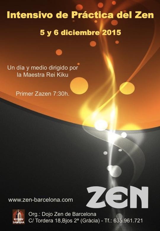 Día y medio práctica de Zazen