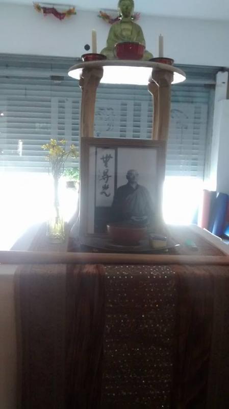 altar dojo zen neuquen