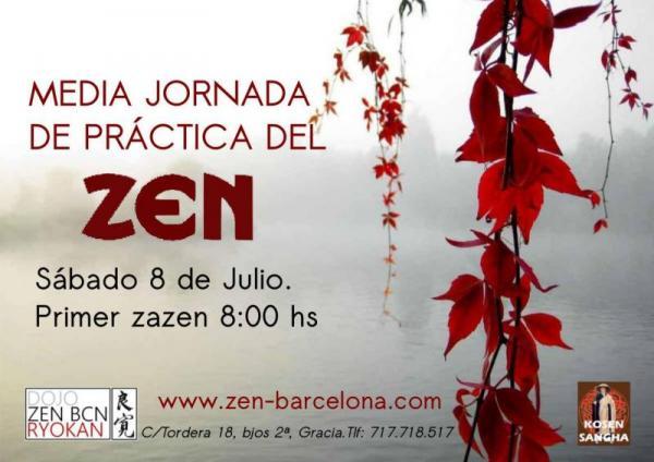 Zazen Media Jornada Práctica en Barcelona Julio 2017