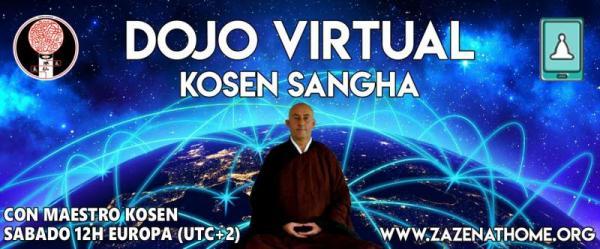 Méditation zen online : zazoom con Maestro Kosen