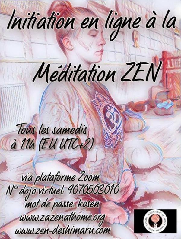 Initiation online à la méditation zen