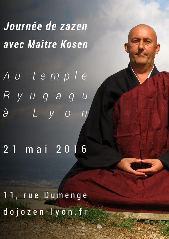 Journée de méditation zen au dojo de Lyon