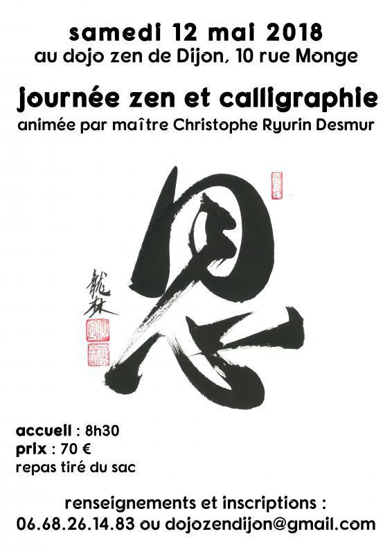 Journée Zen et Calligraphie à Dijon