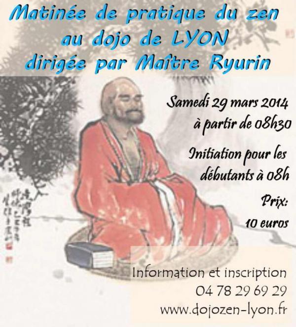 Méditation zen au dojo de Lyon