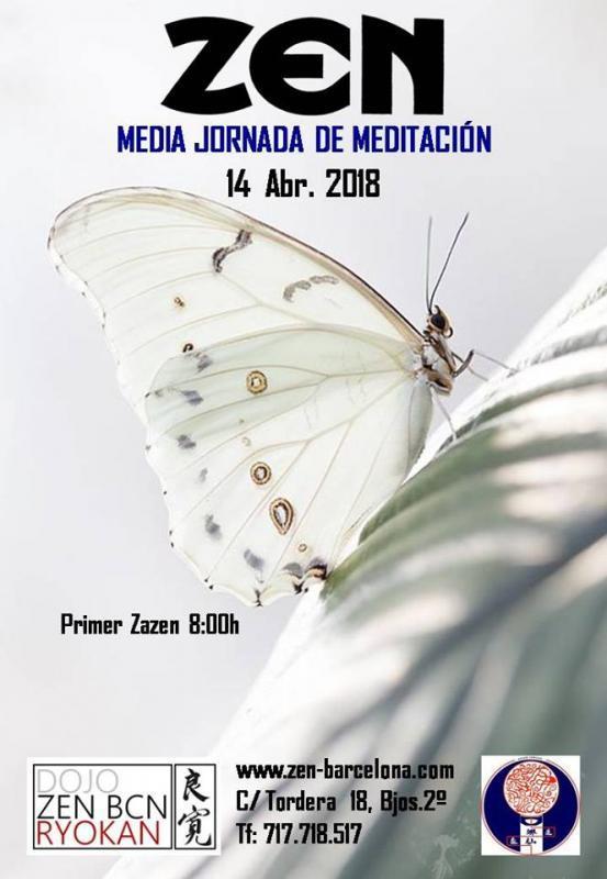 Media Jornada Zazen Barcelona Abril 2018