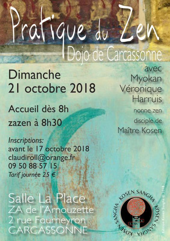 pratique de zazen, la méditaiton zen, à Carcassonne