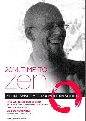 Introducción a la práctica zen con el Maestro Kosho en el European Zen Center en Amsterdam.