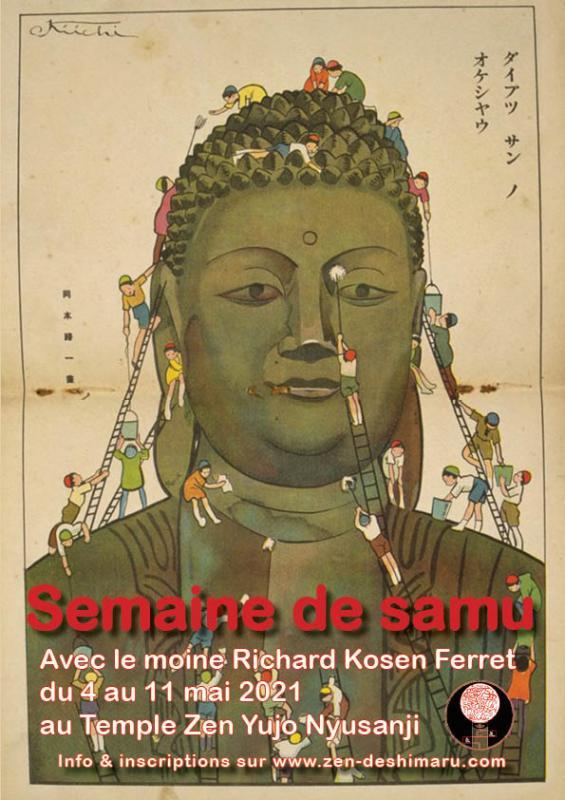 Semaine samu au temple Zen Uujo Nyusanji