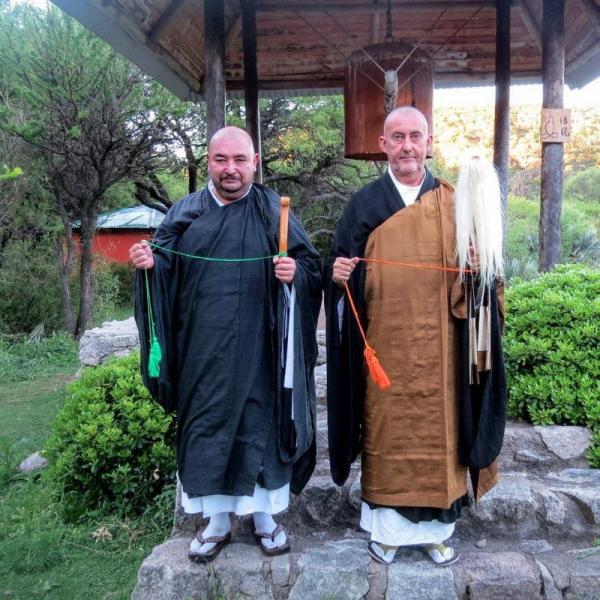 Transmission du Dharma au temple Shobogenji