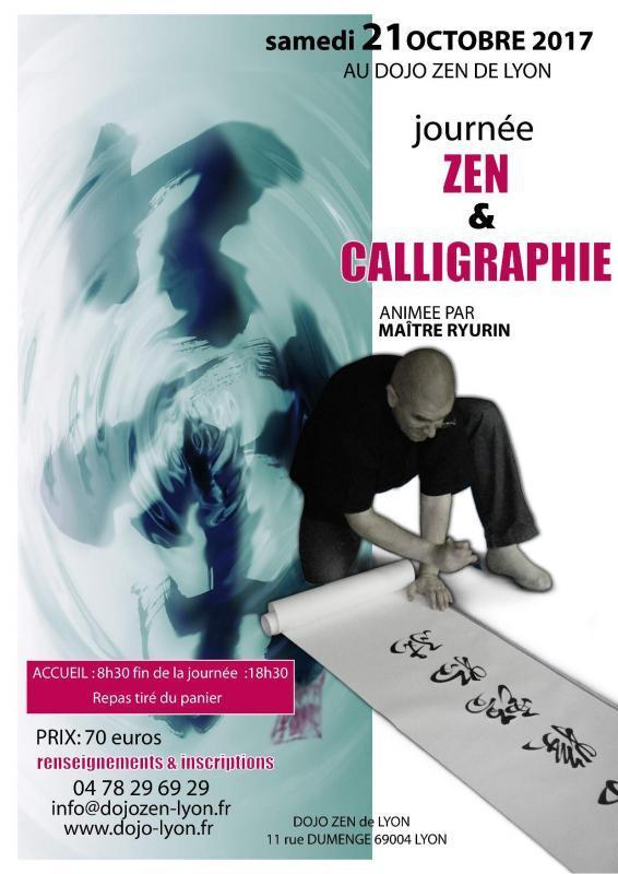 journée zen et calligraphie au dojo de lyon