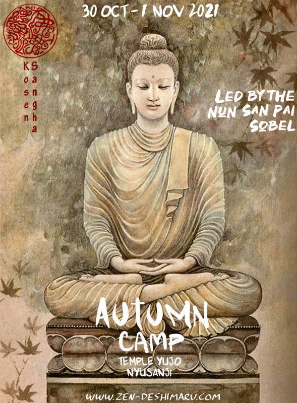 Autumn camp 2021: Zazen the méditation Zen, Caroux Temple near of Montpellier