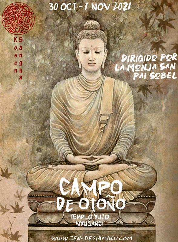 Campo de otoño 2021: Zazen la méditation Zen, Templo del Caroux cerca de Montpellier