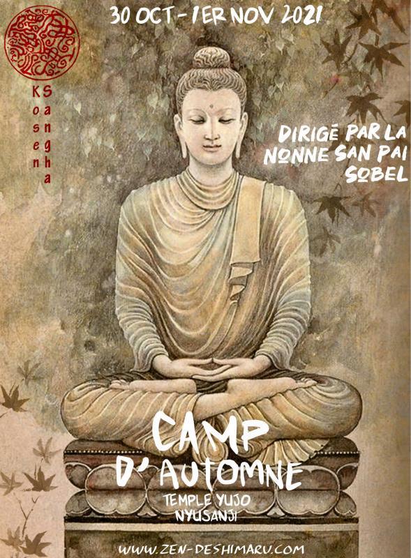 Camp d'automne 2021: Zazen la méditation Zen, Temple du Caroux près de Montpellier