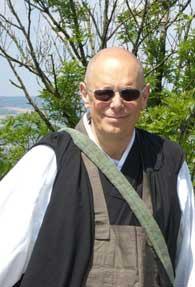 Maître Keisen Vuillemin, moine zen