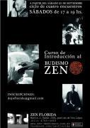 Curso de introducción al Zen en Florida a partir del 21 de septiembre