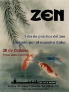 Jornada de Práctica de Zazen Octubre 2013 Barcelona