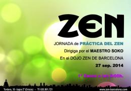 Jornada de Práctica del Zen