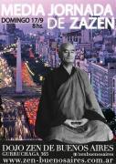 Media jornada Zen el sábado 17/11 en Buenos Aires, Argentina