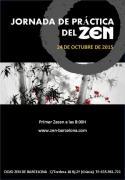 Zen Jornada de práctica en Barcelona Octubre 2015