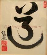 Calligraphies chinoises par le moine zen Christophe Ryurin Desmur