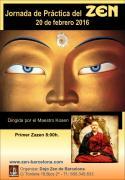 Maestro Kosen día de práctica zazen Dojo Barcelona