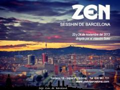 Un dia y medio de meditacion zen en Barcelona
