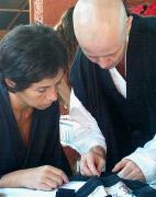 zazen et couture du kesa