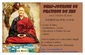 Matinée d'initiation à la méditation Zen
