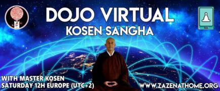 Zen meditation online: zazoom with Master Kosen