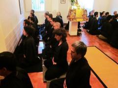 Media Jornada zazen Dojo Zen Barcelona Ryokan