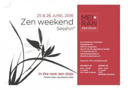 intensivo de meditación zen en Amsterdam el 25 y 26 de junio