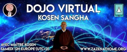 Méditation zen en ligne : zazoom avec Maitre Kosen