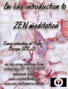 Online introduction to Zen meditation