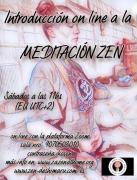 Introducción a la meditación zen en línea y en vivo, cada sabado!