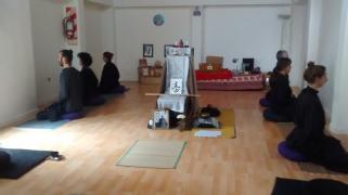 Conferencia con maestra DO SEI, primer maestra Zen de Latinoamérica