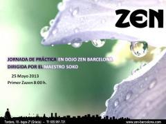 Jornada de Zazen de Mayo en Barcelona
