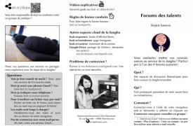 Forums des talents Kosen Sangha :  Aidez à promouvoir le zazen de Deshimaru !
