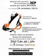 Pratique de zazen au dojo de Lyon