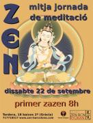 Media Jornada de Meditación Barcelona Septiembre 2018