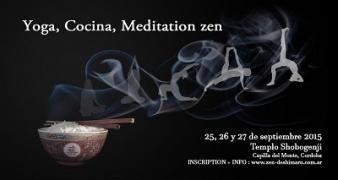 yoga cocina meditacion en el templo zen shobogenji