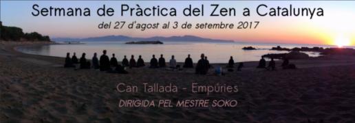 Semana de Zazen playa VI Agosto 2017