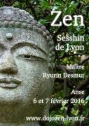 pratique de la méditation zen dirigée par Maître Ryurin