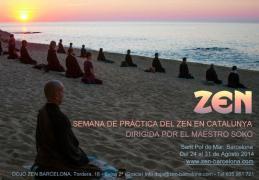 Semana de Zazen en Catalunya Fin de Agosto 2014
